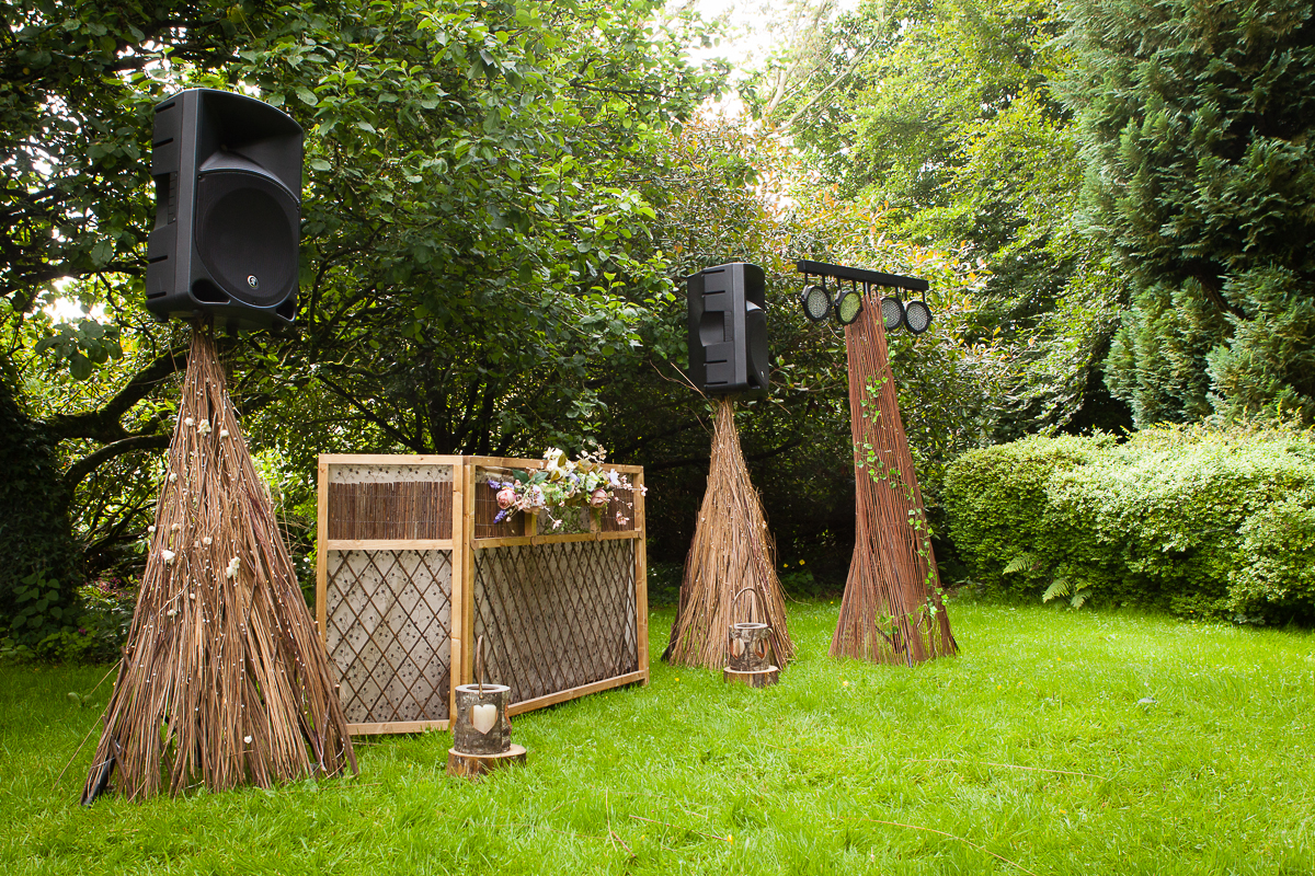 Woodland themed Wedding DJ service