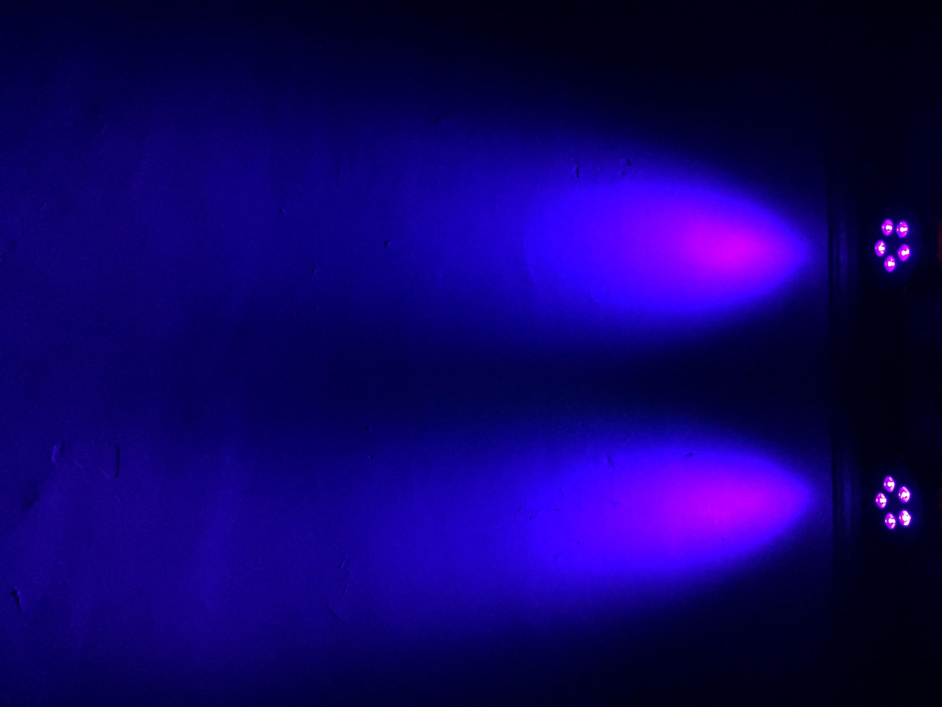 Deep Blue Uplighting