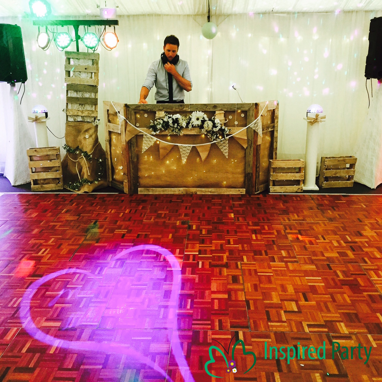 Rustic Themed Wedding DJ service