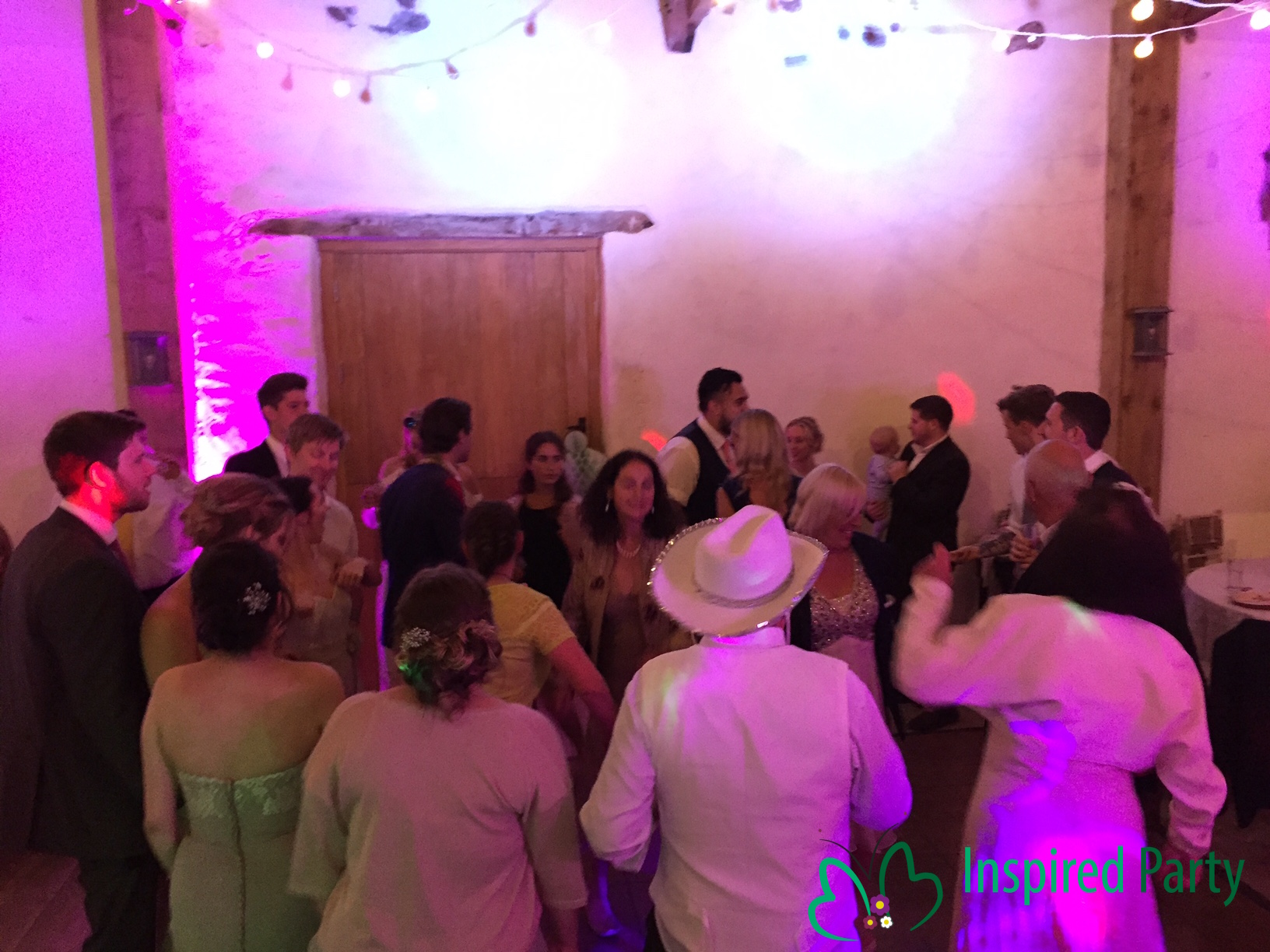 Inspired Party Wedding DJ